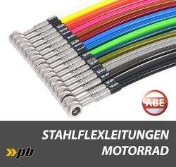 Steel-Braided hoses for Bikes