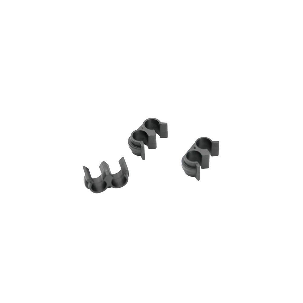 Halteclip für zwei Bremsleitungen 3x